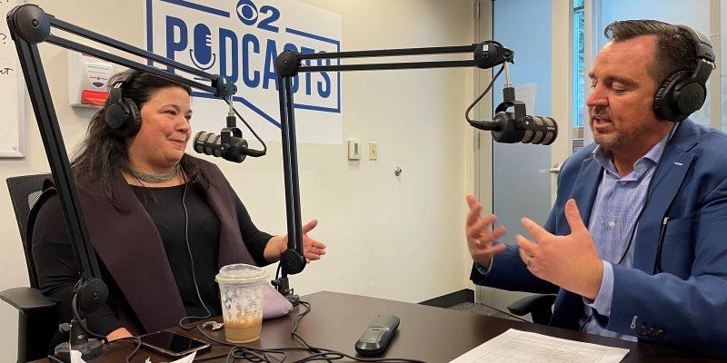 KUTV's Heidi Hatch hosts former Speaker of the House Greg Hughes and Maura Carabello of the Exoro Group in a new episode of Take 2. (Photo: KUTV)